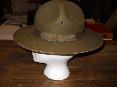 Vintage WW1 or WW2 old Military Hat