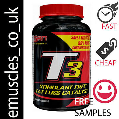 SAN T3 90-360 Capsules Thyroid Support Strong Fat Burner Weight Loss Diet Pills