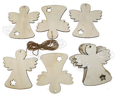 10 X Lovely Christmas Xmas Tree Hanging Accessories Gift Deer Wings Doll