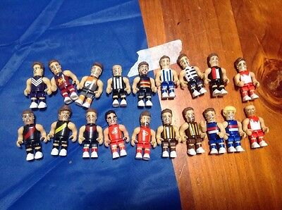 Coles 2016 AFL Micro Figures Stage 1, Stage 2, Stage 3. $1.50 Each