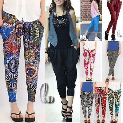 WHOLESALE BULK LOT OF 10 MIXED STYLE Baggy Yoga Beach  2 in 1 Pants Shorts P082