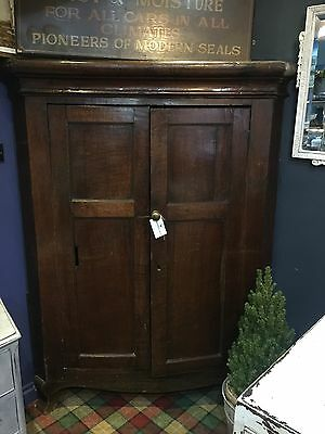 Full Height Georgian Corner Cupboard C1760