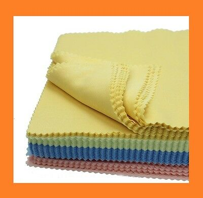 4x Microfiber Cloths for Glasses, FAST DELIVERY FROM FRANCE, FREE SHIPPING