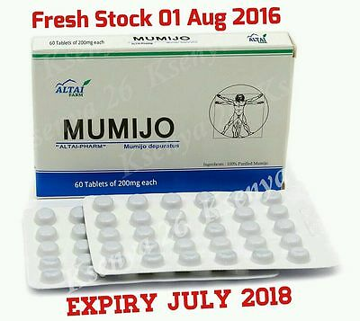 30-1200 tablets Shilajit Altai High Quality Pure Supplement mumio mumiyo mumijo