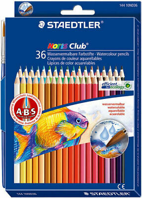 Staedtler Pencil Coloured Noris Aquarell 36 Pack - 144 10ND36