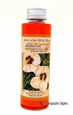 110 Ml Rose of Sharon Aromatic Anointing Oil Blessed in Jerusalem Holy Land
