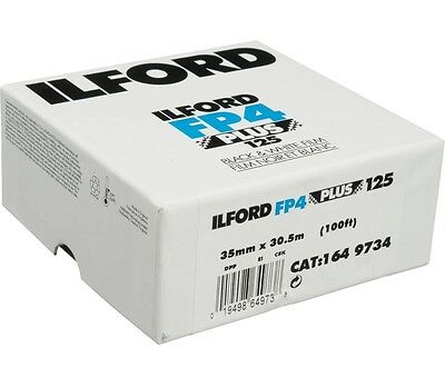 Ilford FP4 Plus Black & White 35mm Bulk Film 125 ISO 35mm x 30.5m (100ft)