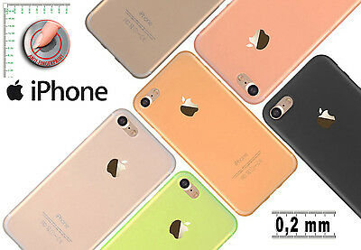 COQUE ETUI HOUSSE LUXE FROSTED MAT IPHONE 4 4S 5 5S 6 6S SE 7 Plus ULTRA FINE