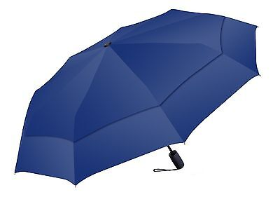 *CLEARANCE* Minowl Umbrella Auto Open Close Windproof For Travel 42 Inch Navy