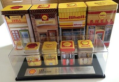 125 Years Malaysia (1891 - 2016) ~ Shell Heritage Canisters Complete Collection