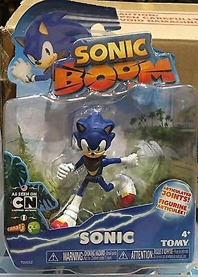 Sonic Boom 3 Inch Plastic Figure Toy Different Pose-Sonic