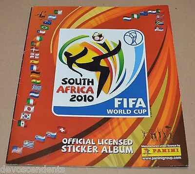 2010 PANINI South Africa World Cup 2010 FULL Album Packets FIFA