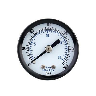 0-300psi 0-20bar Mini Dial compressore d'aria Meter idraulica manometro