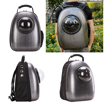 Portable Pet Dog Cat  Astronaut Capsule Backpack Breathable Safety Carrier Bag
