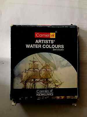 Camel brand Artists water Colours x4