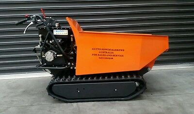 Brick trolly brick cart skid steer mini dumpers 4x4 power barrow electric start