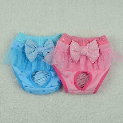 New Pet Dog Cat Puppy Diaper Pants Physiological Sanitary Short Panty Underwear