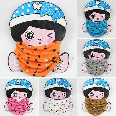Cartoon Baby Toddler Scarf Shawl Wrap Collar Neckerchief Boys Girls Scarf Snood