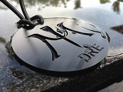 Miura Golf Custom Edm Wire Cut Stainless Steel Black Zinc Bag Tag With Your Name