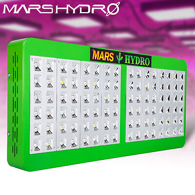 Mars Reflector 480W Led Grow Light Full Spectrum Indoor Hydro Plant Veg Flower