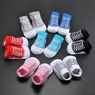 Hot Sweet Baby Boys Girls Infant Toddler Soft Warm Sole Crib Shoes Newborn Socks
