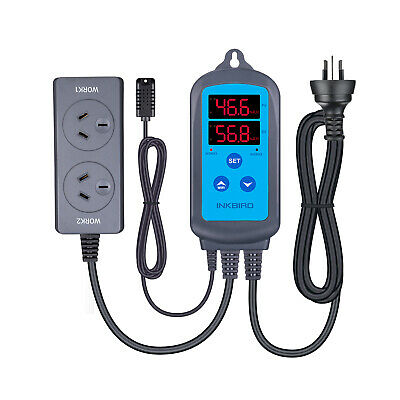 INKBIRD IHC-230 Digital Humidity Temperature Controller Humidifier Hygrometer AU