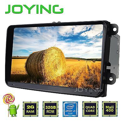 "9"" HD Android 5.1 Double 2din Quad Core GPS Navi for VW CC Jetta EOS"