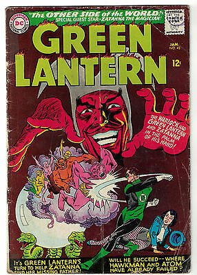 DC Comics GREEN LANTERN Issue 42 The Other Side Of The World! Zatanna App VG-
