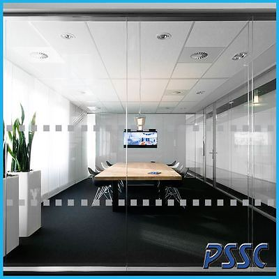 Frosted Manifestation Glass Safety Window Film Squares Privacy Stickers