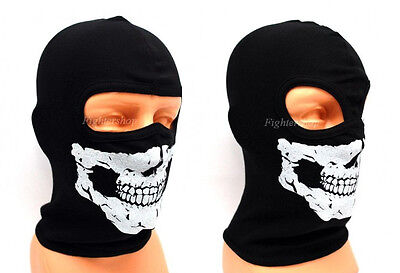 Bike Skull Motorcycle Ski Thermal Face Neck Warmer Mask Balaclava Outdoor Sport