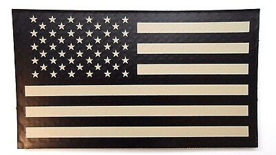 "Authentic IR (Infrared) US Flag 3.5"" x 2"" GI Standard Facing Vecro Patch - NEW"