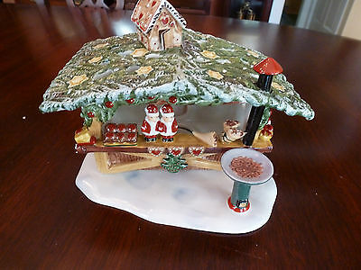 New Villeroy & Boch Christmas Holiday Nostalgic Market Marzipan Stand Gingebread