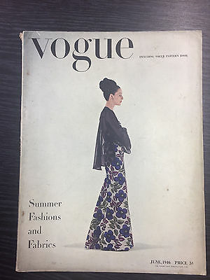 VOGUE Magazine June 1946