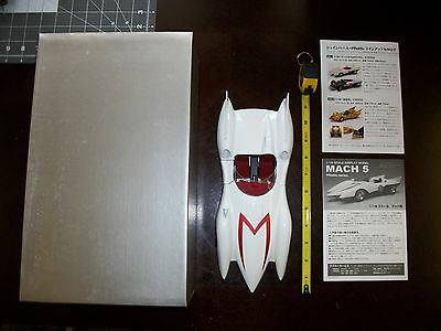 "Schwyn Haas Speed Racer Mach Go Go Go ""MACH 5"" Aluminum Body Model Car Japan MKT"