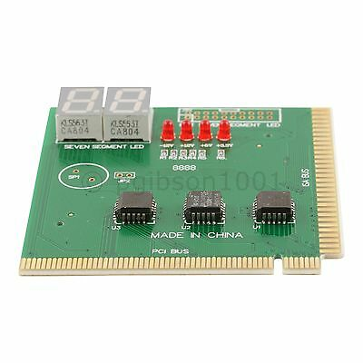 PC PCI/ISA Diagnostic Analyzer Card  2 Digit Motherboard Tester