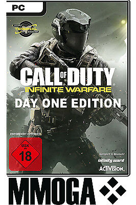 Call of Duty Infinite Warfare - Day One Edition Key - Steam PC Code NEU [EU][DE]