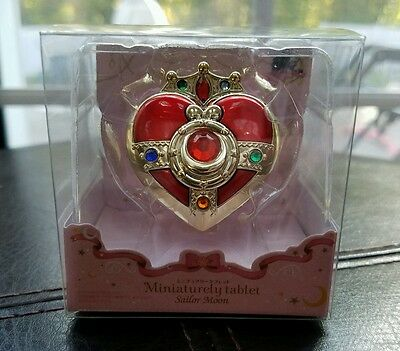 Official Sailor Moon Miniaturely Tablet Cosmic Heart Compact Keychain Charm