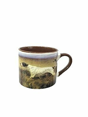 AKC Coffee Mug Stoneware English Pointer Ceraminc Extra Large 20 OZ