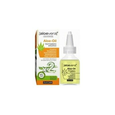 ZUCCARI aloevera2 aloe oil trattamento specifico per cicatrici50 ml
