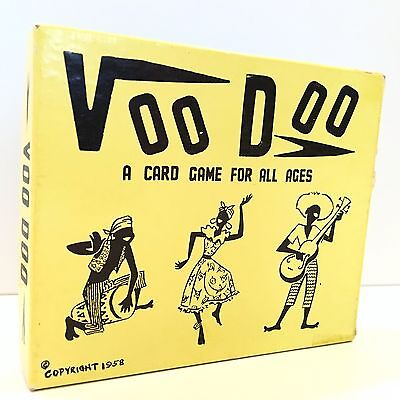VooDoo Vintage Card Game 1958 Miami FL  - Extremely Rare
