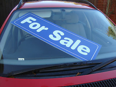 FOR SALE and SOLD sign boards for selling vehicles