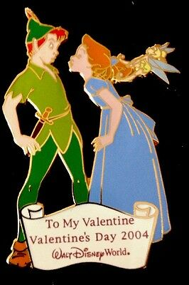 Disney pin 28144 Peter Pan, Wendy and Tinker Bell Cast Member Valentine's Day