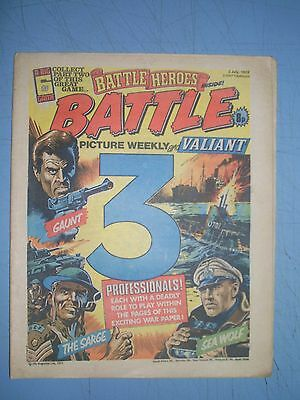 Battle Picture Weekly issue dated July 2 1977 Valiant