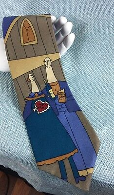Vintage 1991 The Beatles Apple When I'm Sixty Four Silk Neck Tie June 1 1967 USA