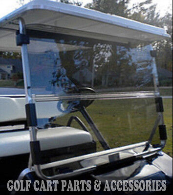Club Car DS Clear Windshield '82-'00.5 High Quality Golf Cart Part Acrylic
