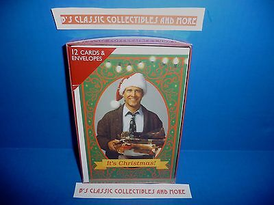 National Lampoon's Christmas Vacation Christmas Card 12 Set - Clark Hap Happiest