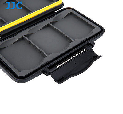 Water-resistant Anti-shock Holder Memory Card Case Protector For 6CF Card JJC