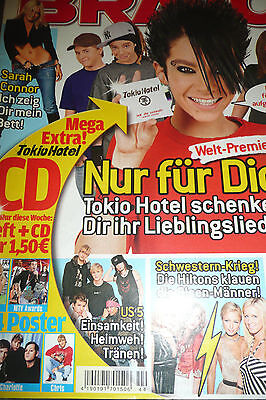 Bravo 44 2005 Good Charlotte Poster Boy & Girl nackt nude Bodycheck Sarah Connor
