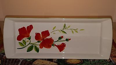 Garden Bouquet Home Studio Ceramic Tray / Platter