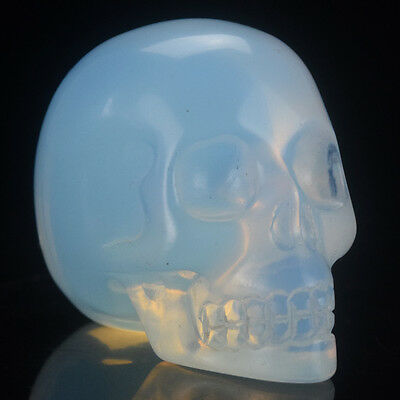 2 inch Opalite Crystal Skull Home Decoration Gift